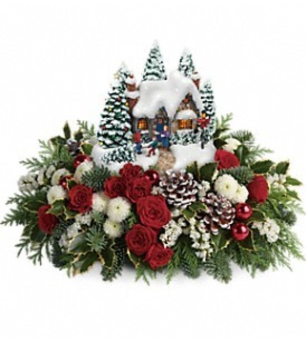 Thomas Kinkade Country Christmas Homecoming