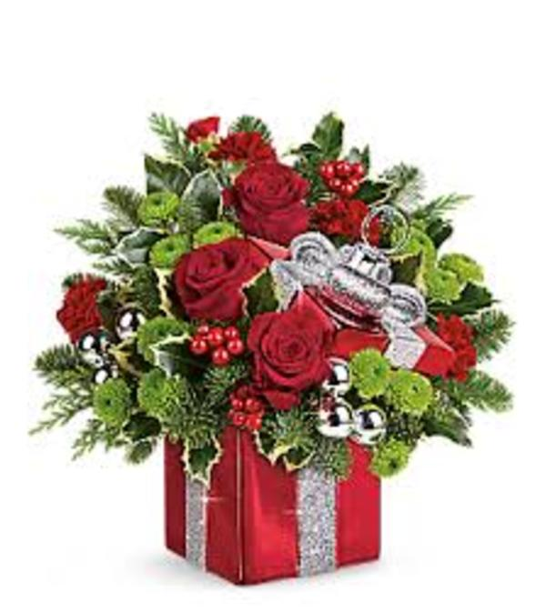 TELEFLORA GIFT WRAPPED BOUQUET