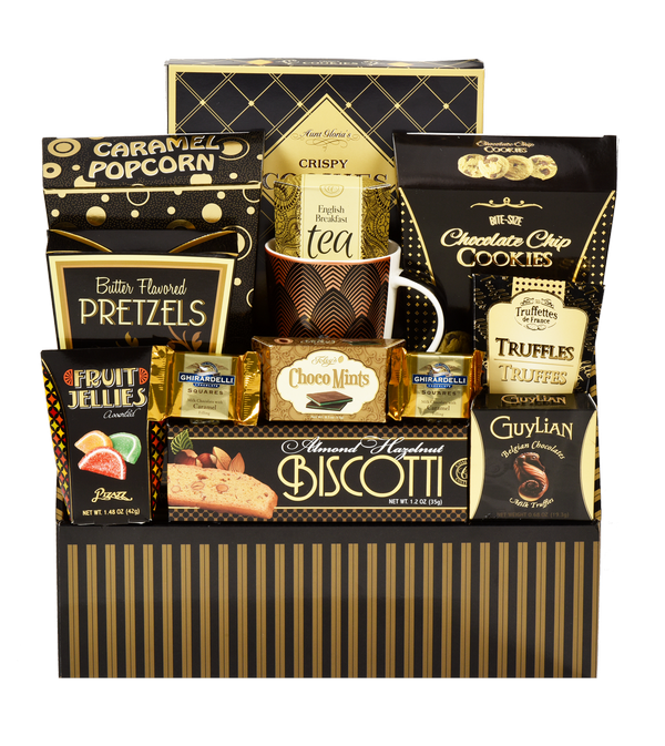 Elegant Delight Gift Basket