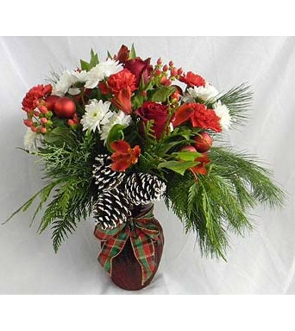 Tannenbaum Vase Arrangement