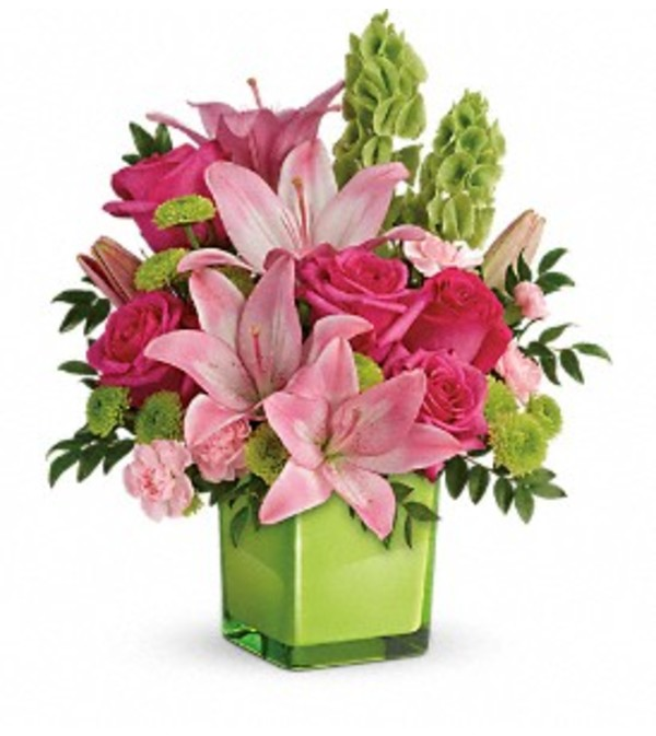 Teleflora's Love with Lime