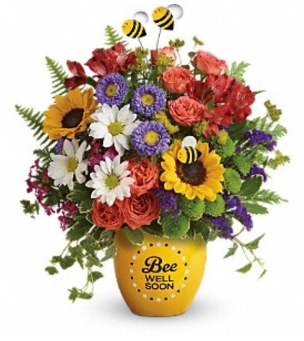 Teleflora's Garden Of Wellness Bouquet