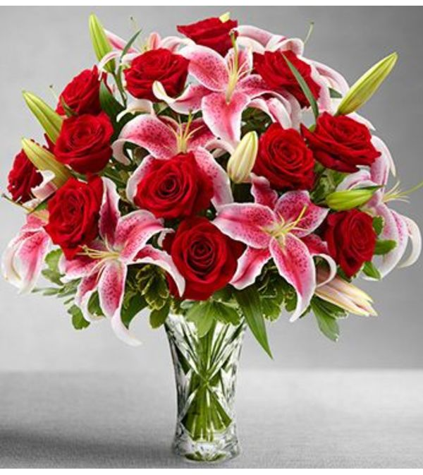Large Roses & Lilies