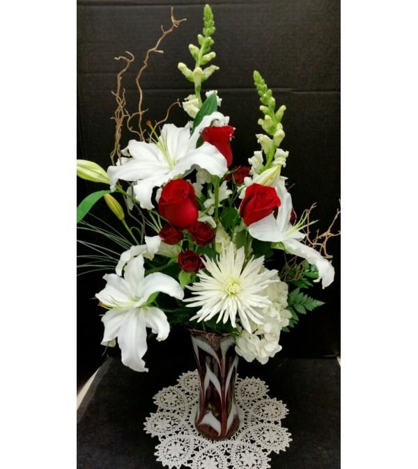 Fluttering Heart Bouquet
