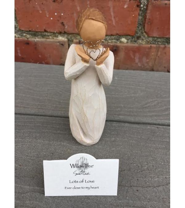 WILLOW TREE ANGEL-Lots of Love