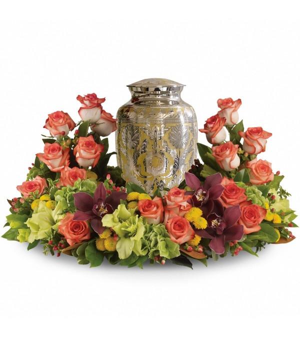 Sunset Urn Floral