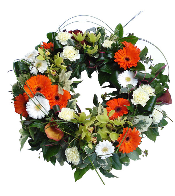 The Simple Garden Wreath