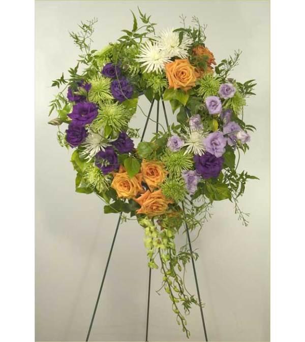 Starburst Wreath