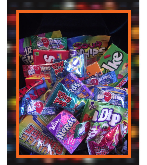 Candy Lovers Basket