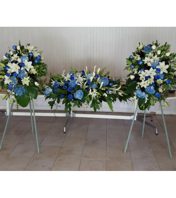 Set of 3 funeral Sprays *Call-in to order*