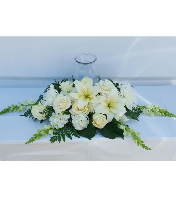 Front and Center Urn Arrangement