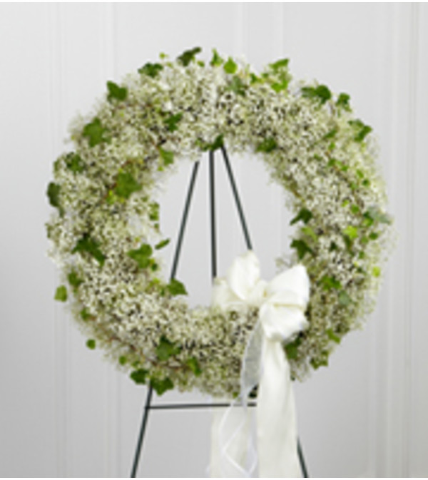 Babies Breath Wreath