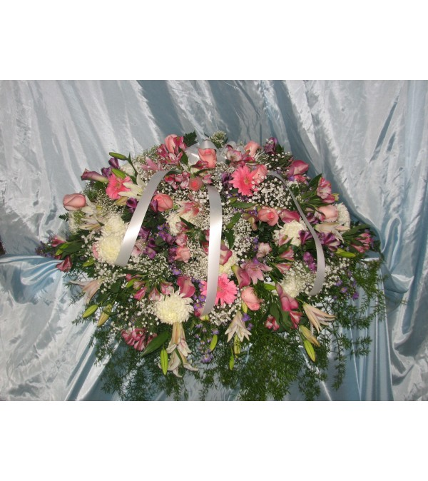 Pink Pastel Casket  GF-CC6