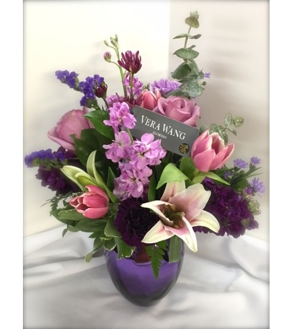 Vera in Violets by Rothe Florists