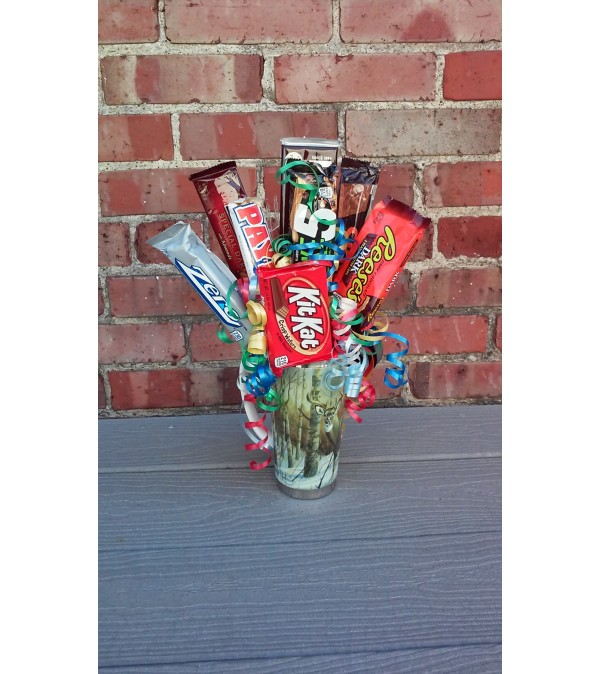 Insulated Mug Candy Bouquet