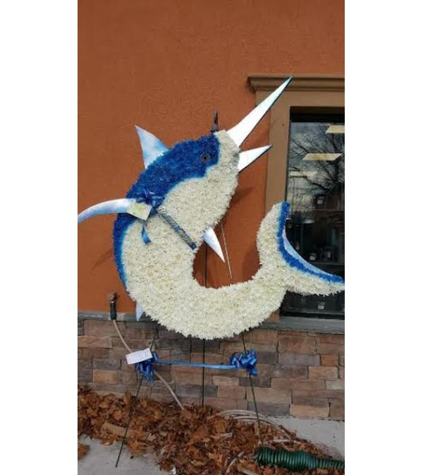 Blue and White Marlin