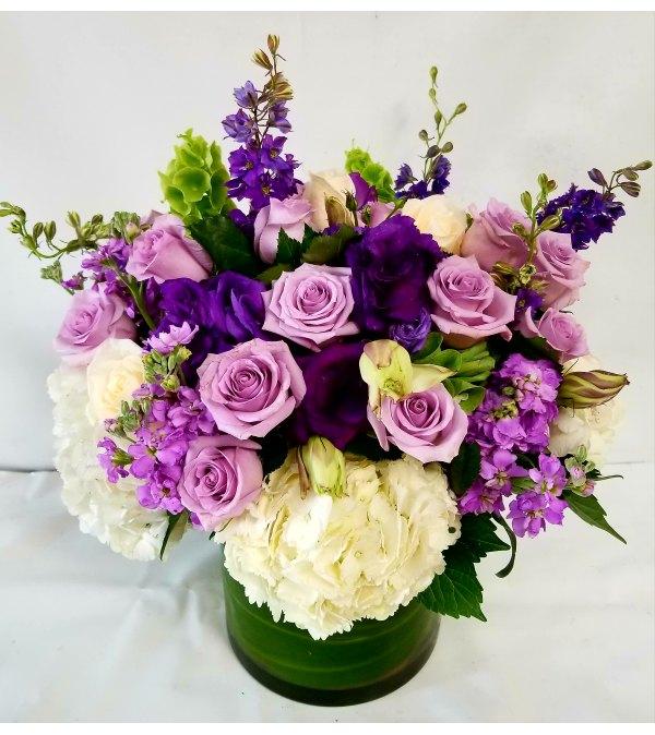 True Purple Blooms