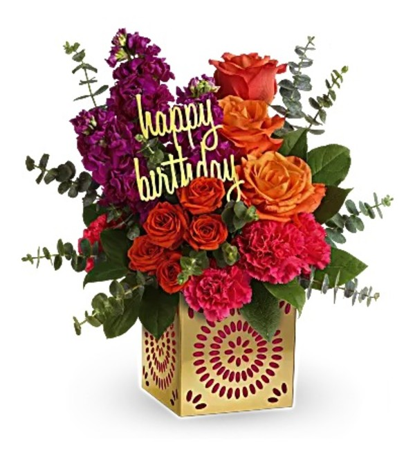 Birthday Sparkle by Teleflora