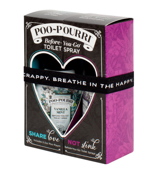 SHARE LOVE NOT STINK by POO POURRI