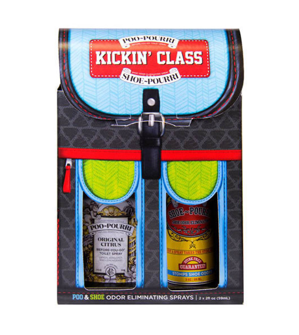 KICKIN' CLASS POO & SHOE SPRAY by POO POURRI