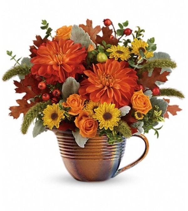Teleflora Autumn Sunrise Bouquet