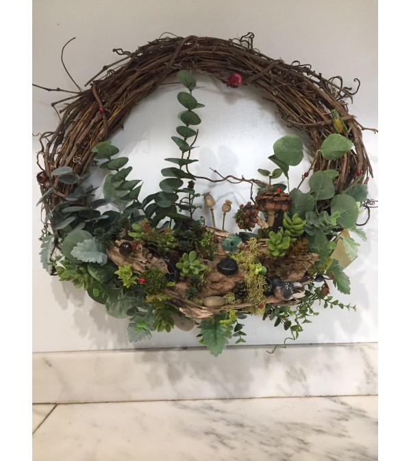 Woodsy Wreath