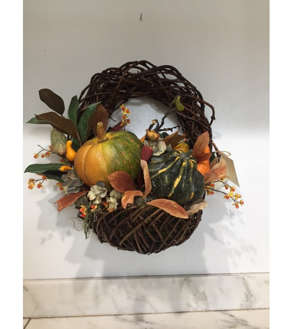 Fall Pumpkin Basket