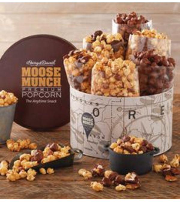 Moose Munch Popcorn Tin