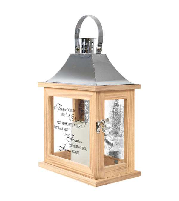 IF TEARS COULD BE A STAIRWAY MEMORIAL LANTERN