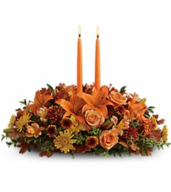 Family Gathering Centerpiece by Teleflora