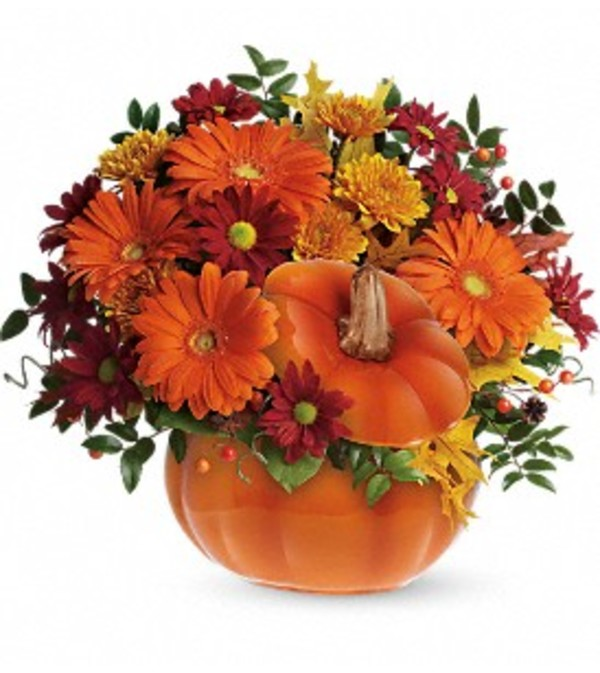 Teleflora's Country Pumpkin Bouquet