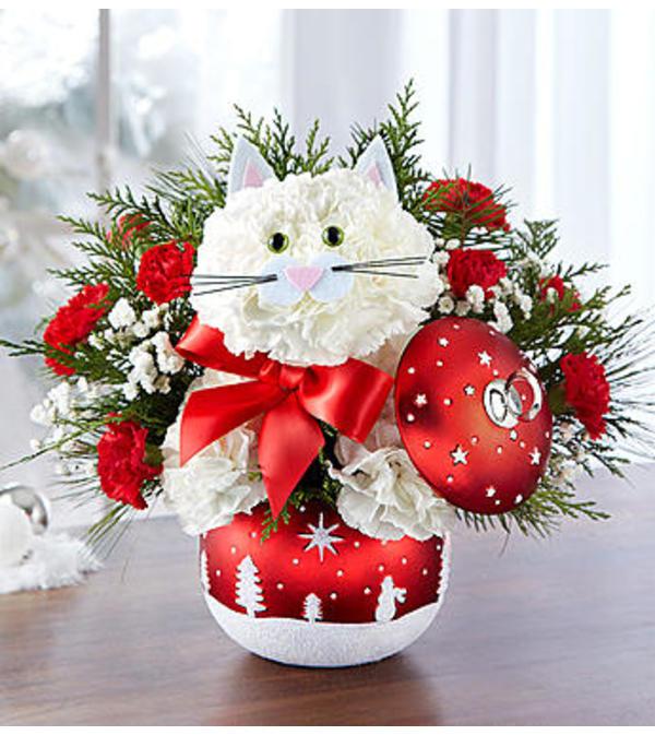 Fabulous Feline™ in Starry Night Ornament™