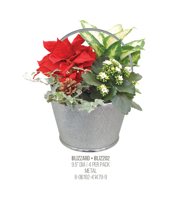 Snow Blizzard Planter