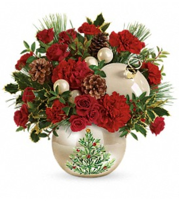 Christmas Tree Ornament Bouquet