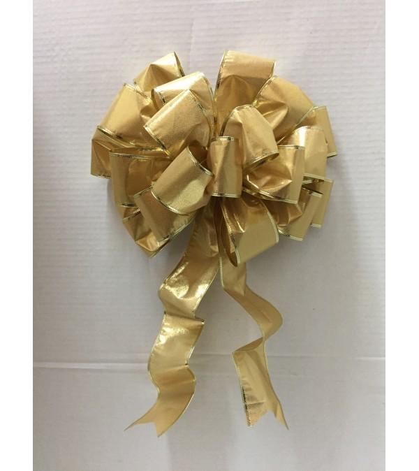 9 Yard Gold Ribbon Bow