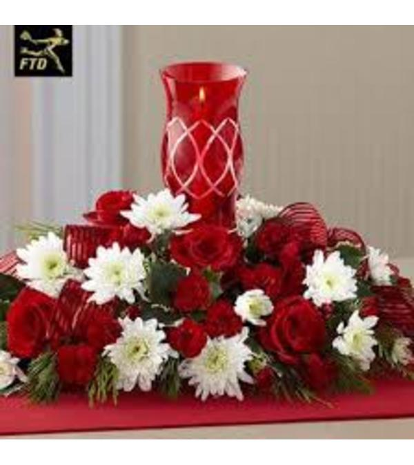 Red Hurricane Centerpiece