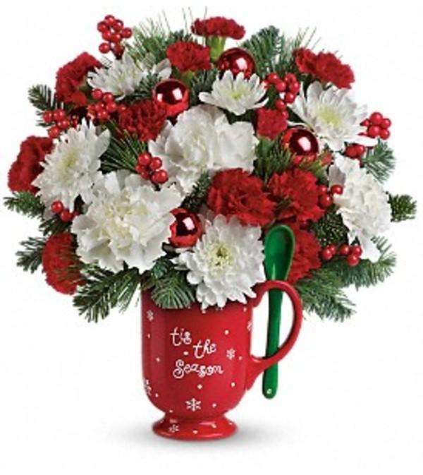 Merry Mug Delux Bouquet