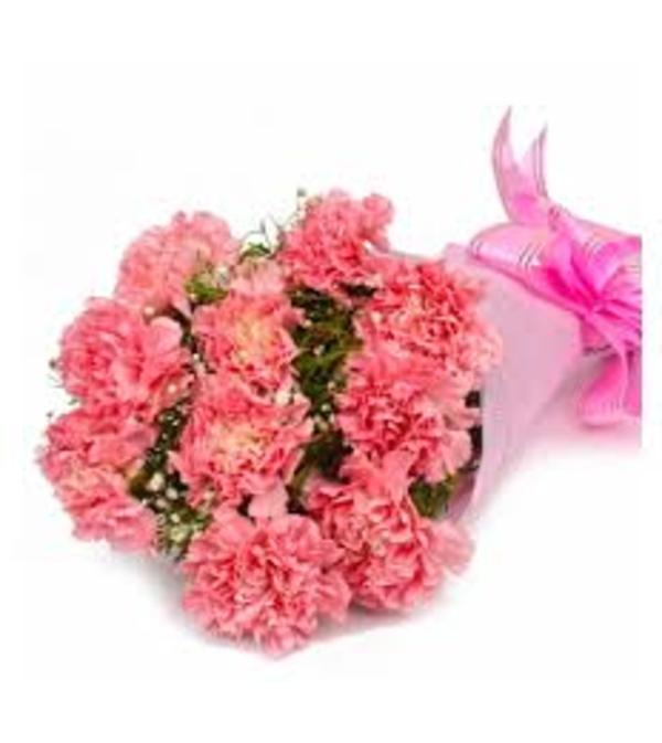 carnation wrapped