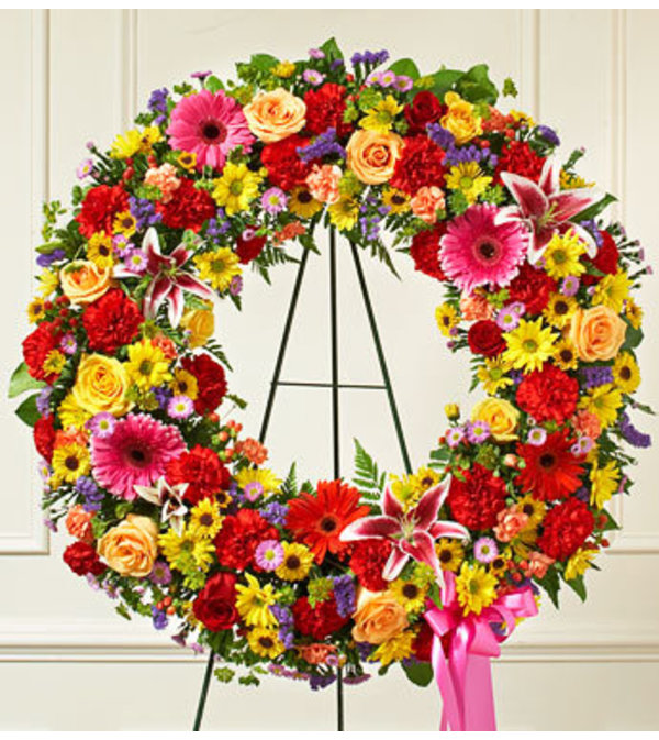 Mixed Open Wreath