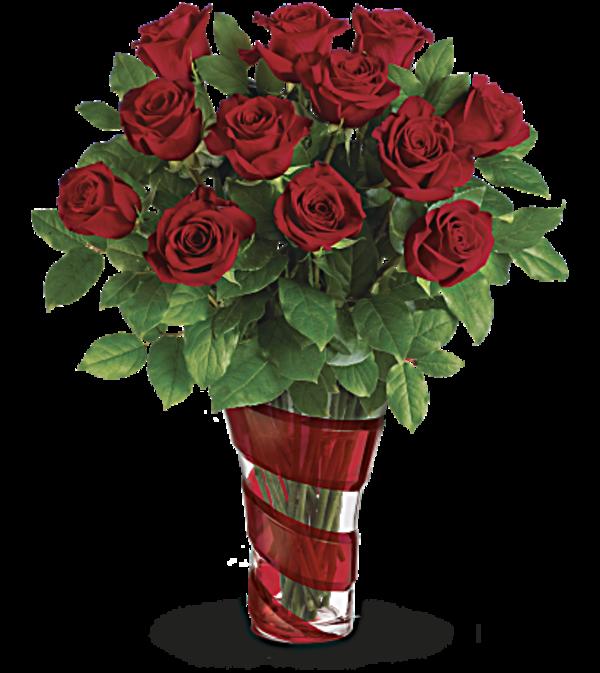 Dancing in roses