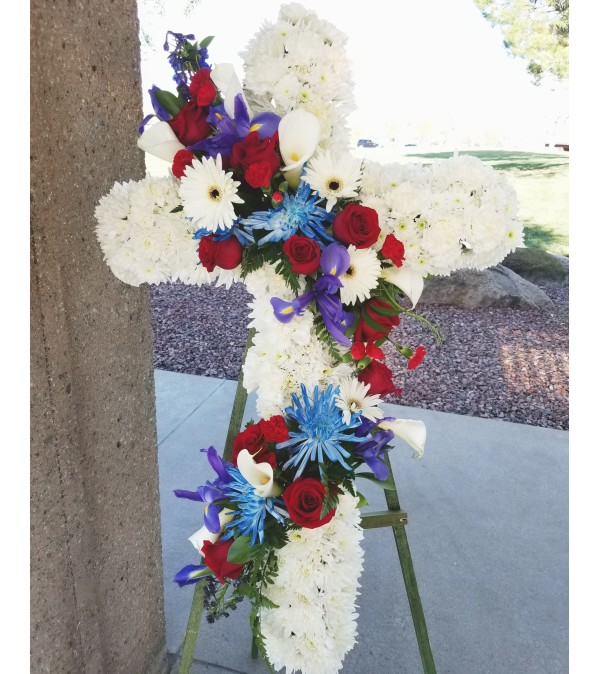Military Garland Cross