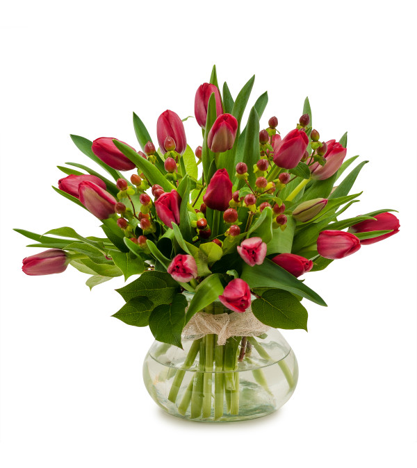 Berries & Tulips