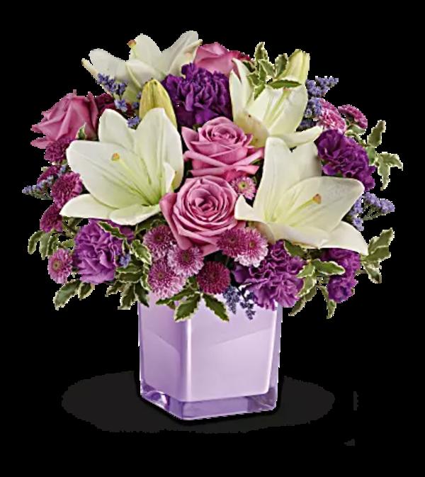 Teleflora - Pleasing Purple Bqt