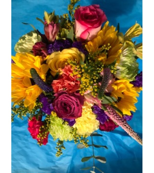 """FlowerWrap """"Bountiful"""""""