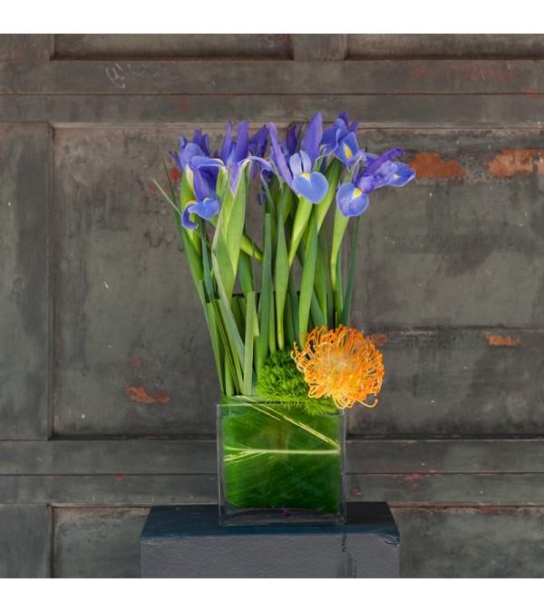 Loving Iris Bouquet