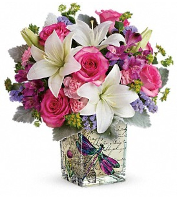 Teleflora Garden Poetry Bouquet