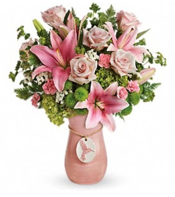 Teleflora Elegance In Flight Bouquet