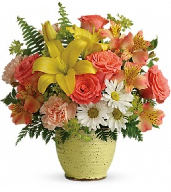 Telefloras Clear Morning Bouquet Bartlett Il Florist