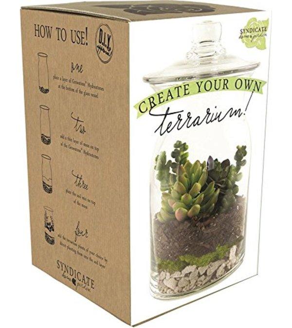 DIY Terrarium Kit ( Deluxe Price Includes Tool  Kit )