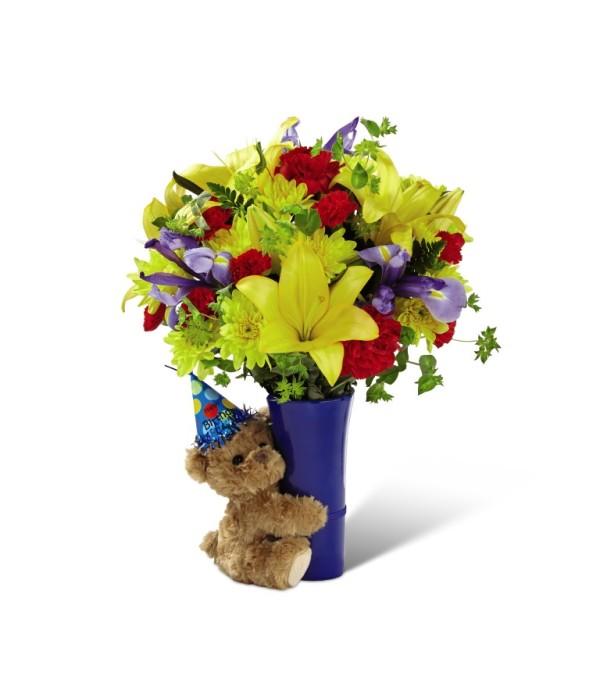 The FTD® Big Hug® Birthday Bouquet